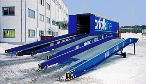 Mobile truckramper - Alunor Trans AS