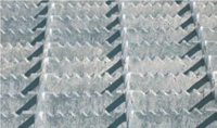 Varmgalvanisert anti-slip rist.