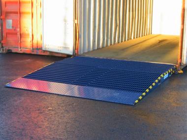 Containerbro med horisontalnivå 2 - Alunor Trans