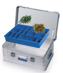 Sortimentkassett for aluminiumskasser